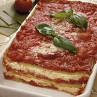 Can You Bake a Large Pan of Lasagna From a Frozen State?