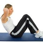 Cómo hacer abdominales sin anclar los pies