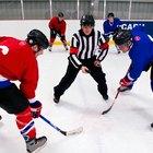 ¿De qué manera funcionan los cambios de línea en hockey?