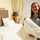Cómo limpiar rápidamente una habitación de hotel