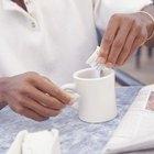 Efectos secundarios de la sucralosa y el aspartamo