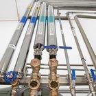 Cómo convertir el tamaño de la tubería a galones por minuto