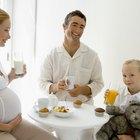 Desayuno saludable para una mujer embarazada