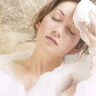 Cómo usar paños de aseo para masajear suavemente mi cabello
