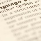 Las ventajas de un diccionario monolingüe