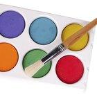 Cómo pintar vidrio con acuarelas