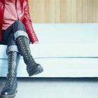 Buenos estilos de botas para mujeres con piernas anchas