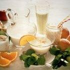 Batido de proteínas sin suero de leche o huevos