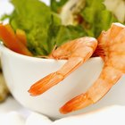 Soaking Shrimp or Scallops in Lime Juice