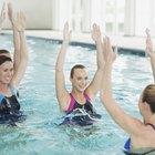 Cómo enseñar aeróbics en el agua