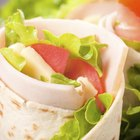 Turkey & Cheese Wrap Calories