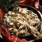 Nutrición del arroz con pollo