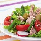 Plan de dieta bajo en carbohidratos y bajo en grasas