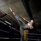 Listado de movimientos de kickboxing