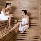 Cómo utilizar un sauna seco
