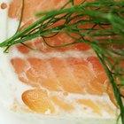 Cómo empanar y cocinar salmón