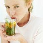 ¿El té verde es un buen sustituto para el agua?