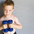 ¿Pueden los niños aumentar la masa muscular?
