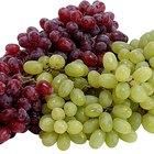 Uvas y potasio
