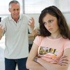 Comunicación entre el padre y su hija