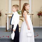 What Can Small Boys Do to Be a Part of the Wedding Ceremony?