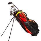 Golf y tirón del romboide