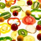 El contenido de fructuosa y glucosa en frutas y vegetales