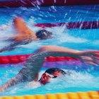 Ventajas de sprints vs. la distancia en natación
