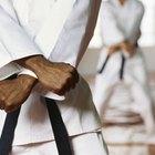 ¿Cuál es el significado de los cinturones de karate?