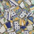 Cómo hacer un mosaico con fragmentos de cerámica