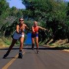 ¿Quemas más calorías corriendo o patinando?