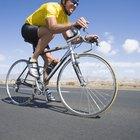 Carreras cortas en una pista o en bicicleta