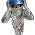 Cómo hacer una réplica del casco de un astronauta