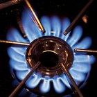 Anillo quemador de gas hecho en casa