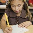 Cómo enseñar a los niños el uso de mayúsculas y puntuación
