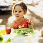 La importancia de que los niños se alimenten sanamente