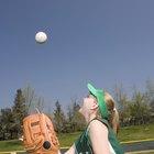 ¿Qué haces en los simulacros de softball de la escuela media?