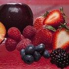 Cómo mantener las brochetas de fruta frescas durante toda la noche