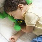 Cómo evitar que los niños se caigan de la cama