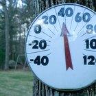 Los cuatro tipos de escalas de temperatura