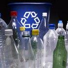Cómo derretir plástico para hacer arte reciclado