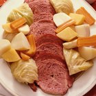 Presssure Cook Corned Beef & Cabbage