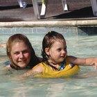 ¿Puedes nadar en una piscina con ampollas por quemaduras?