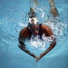 Confusión muscular y natación