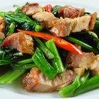 How to Make Stir Fry With Boneless Pork Chops
