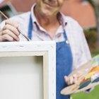 Cómo pintar sobre lienzo con acrílico