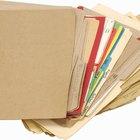 Como hacer  carpetas para archivos de acordeón