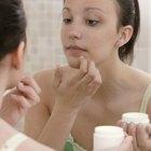 Crema de corticosteroides para el acné