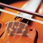 Cómo determinar la altura del puente de un violín