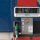 Tipos de combustible diesel